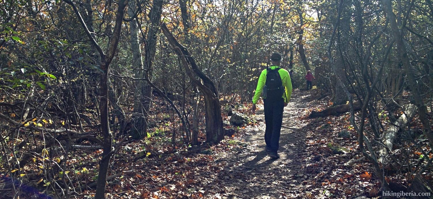 Descenso por el Stony Man Trail