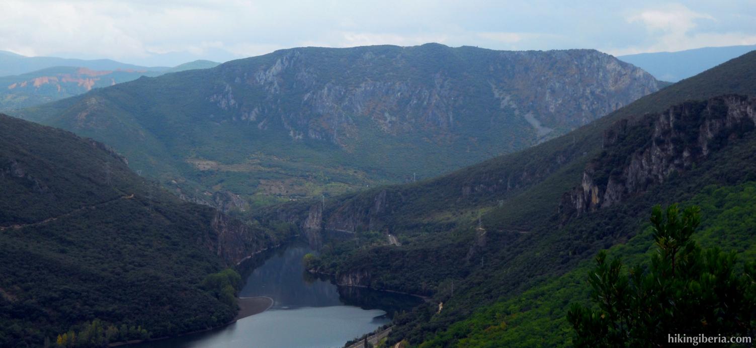 Vista al río Sil