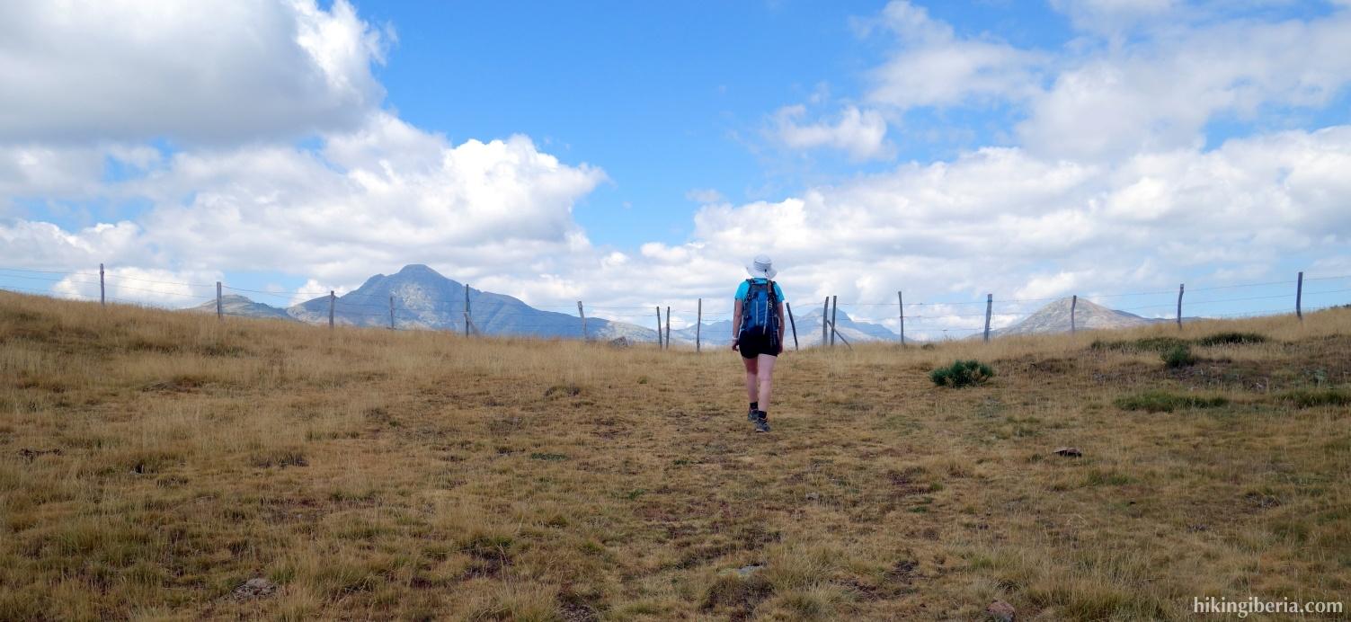Col between Hontanillas and Peña Carazo