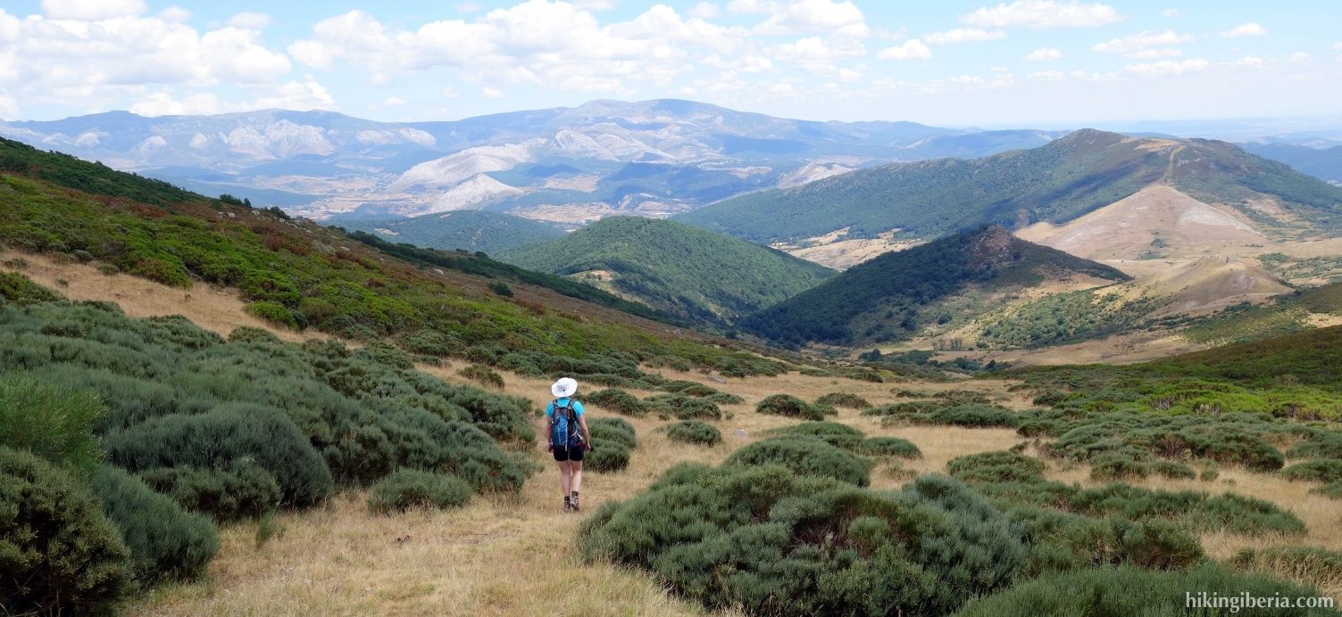 Descent from the Prado de Las Cabras