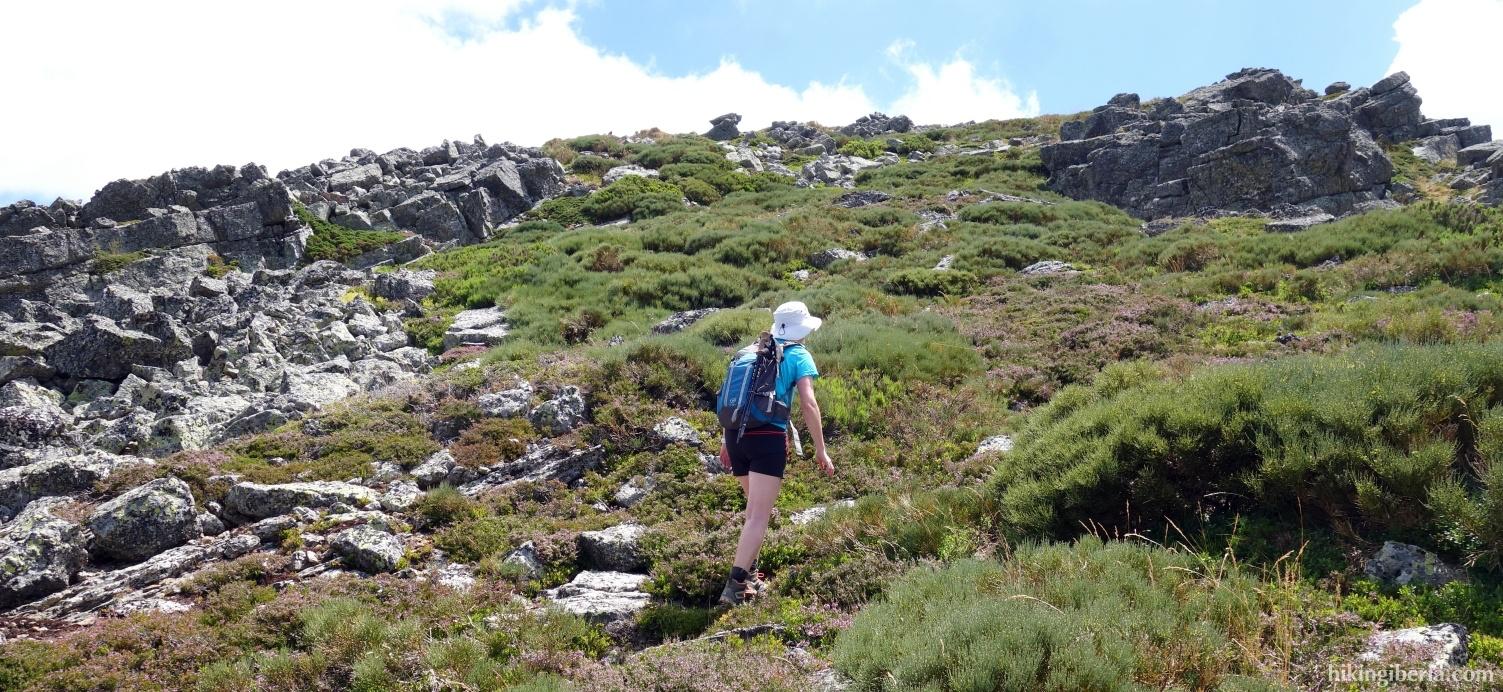 Climb to Peña Carazo