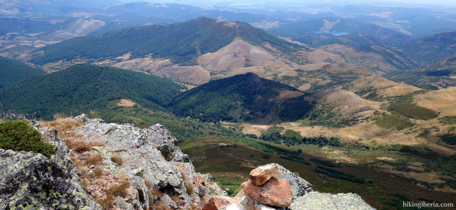 View from Peña Carazo
