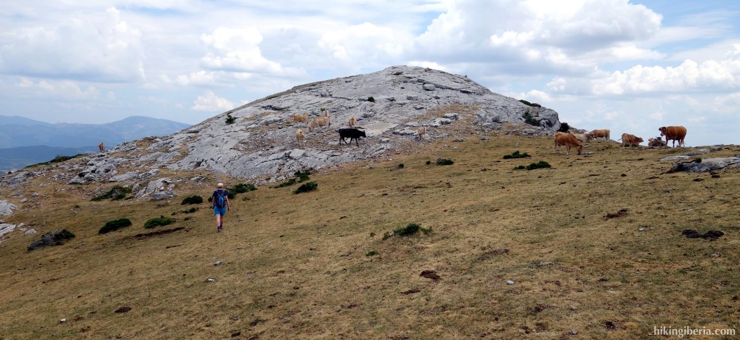 Klim naar de Pico Almonga