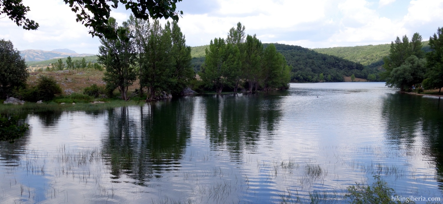 Reservoir of Cervera-Ruesga