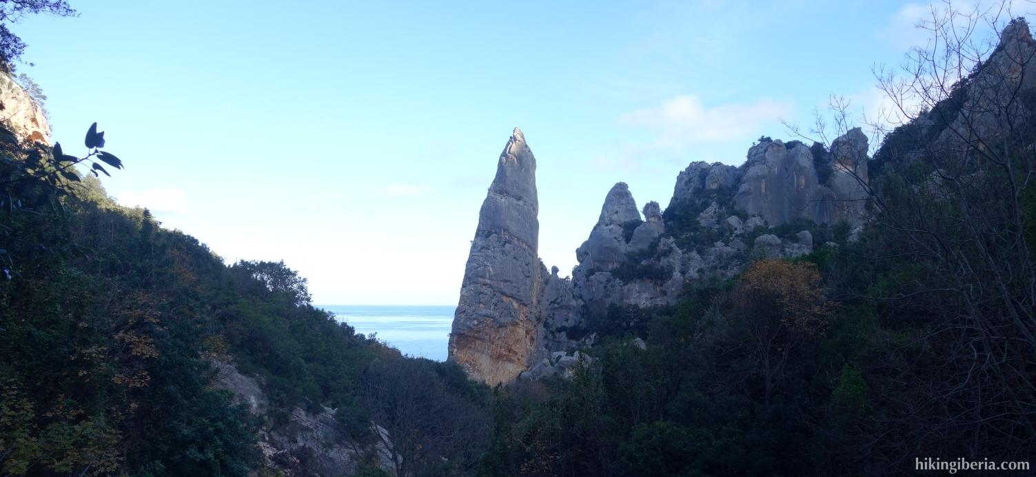 View on the Aguglia