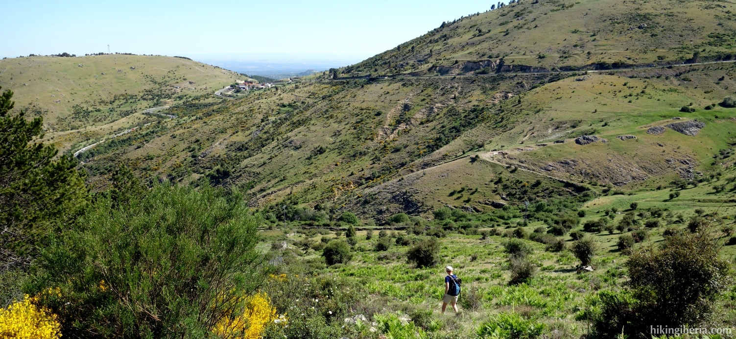 Descent to the Prado del Valle