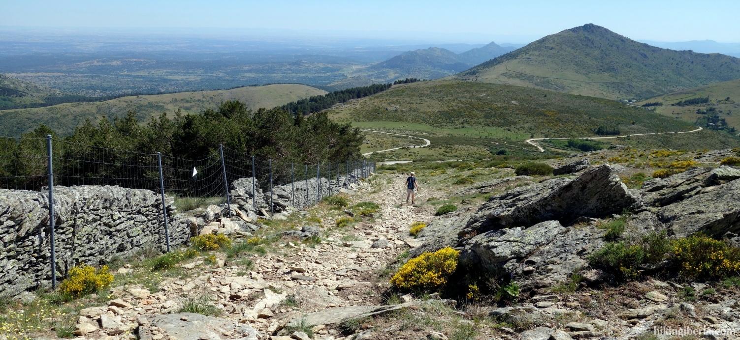 View on the Sierra Oeste de Madrid