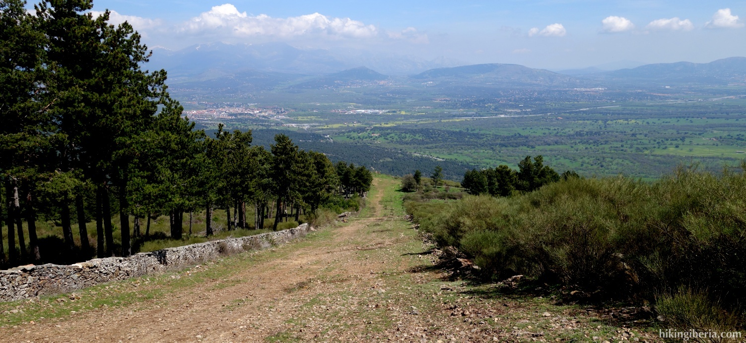 Firebreak on the Loma del Abantos