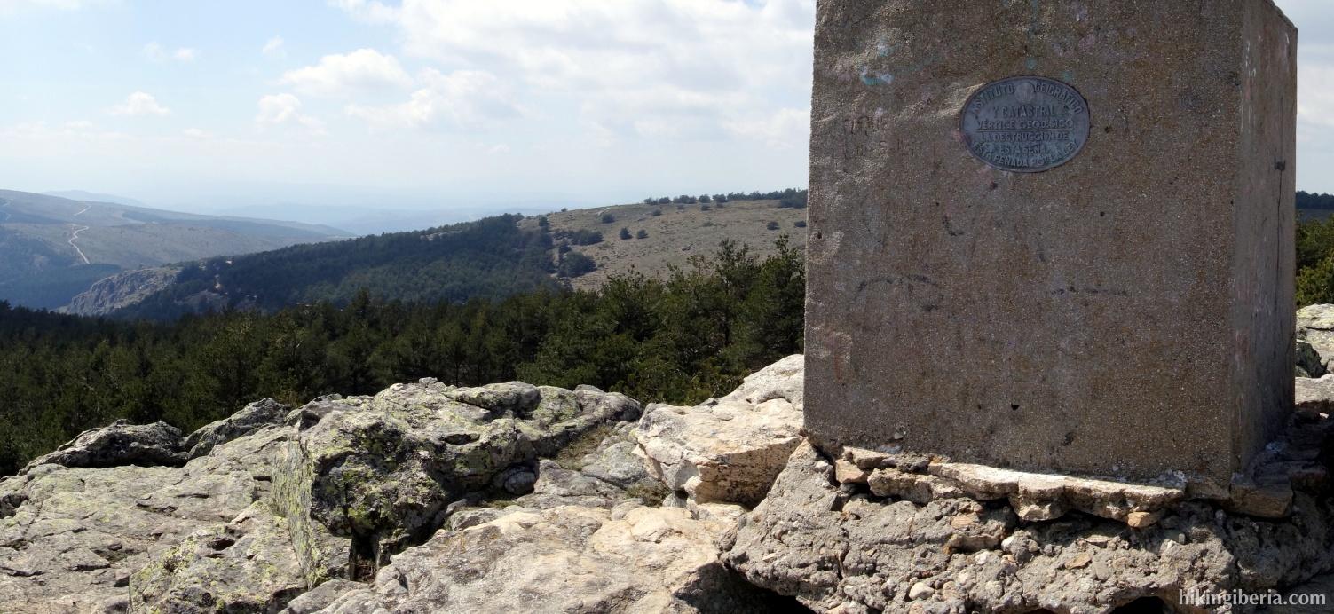 The peak of the Abantos