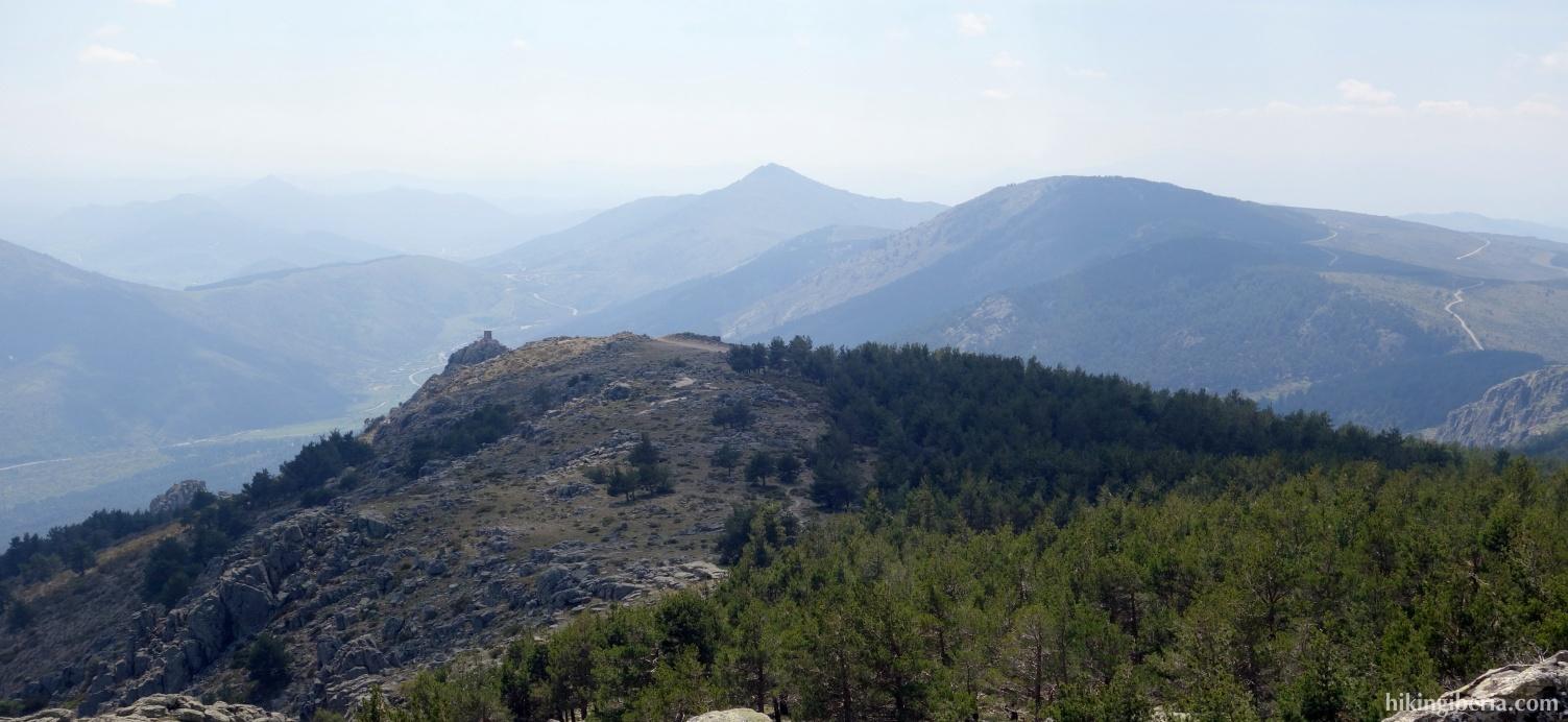 Aussicht ab der Loma del Abantos