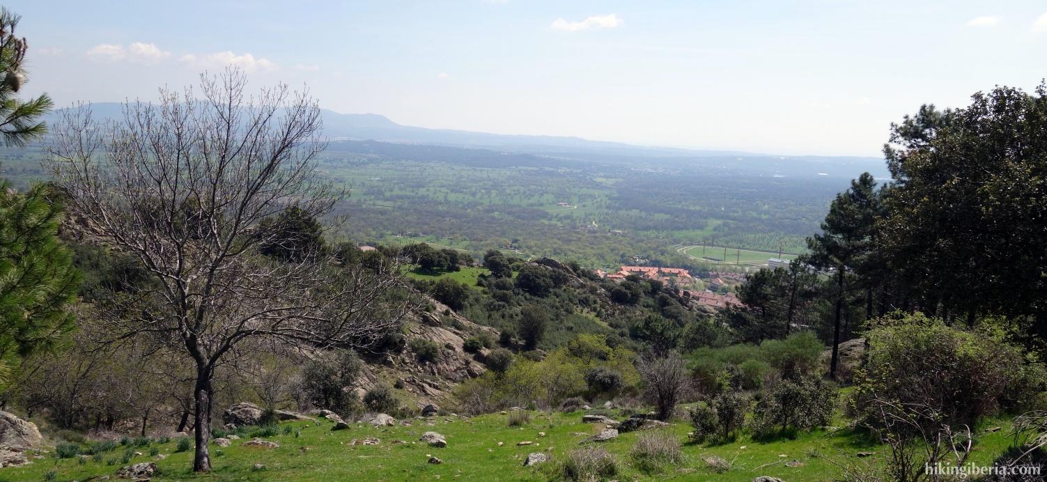 View over El Escorial