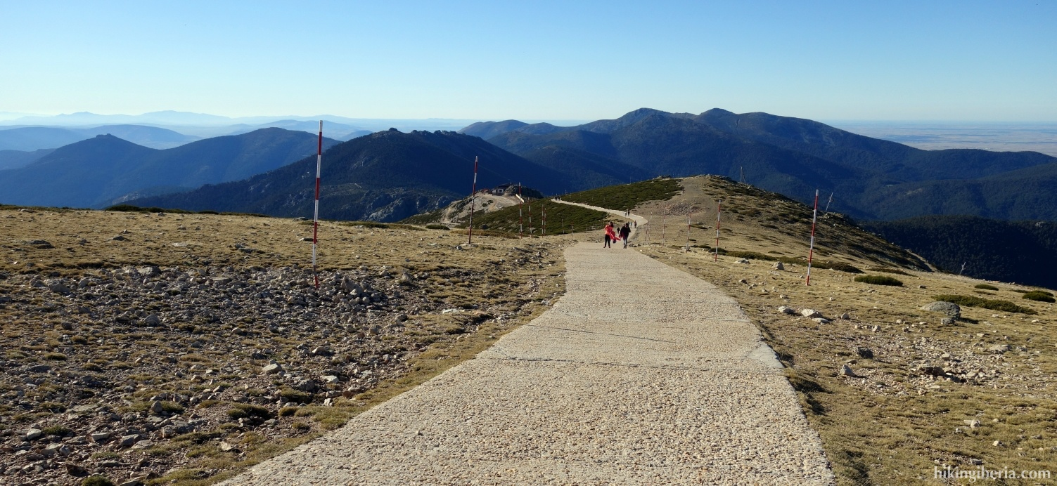 Descent to the Puerto de Navacerrada