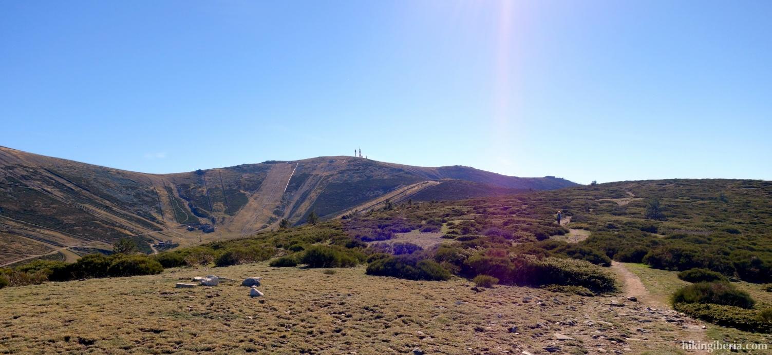 Op de PR-31 op de Loma del Noruego