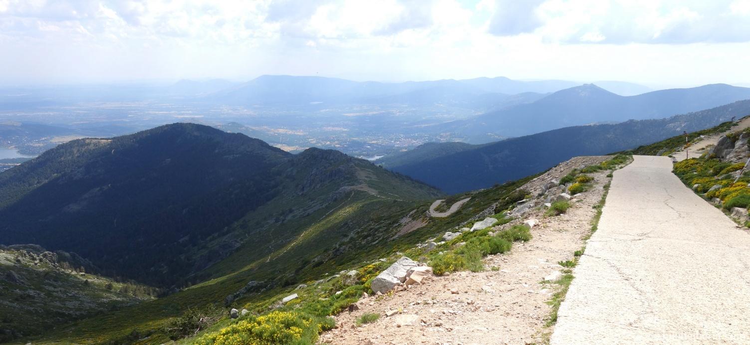 Descent from the Bola del Mundo