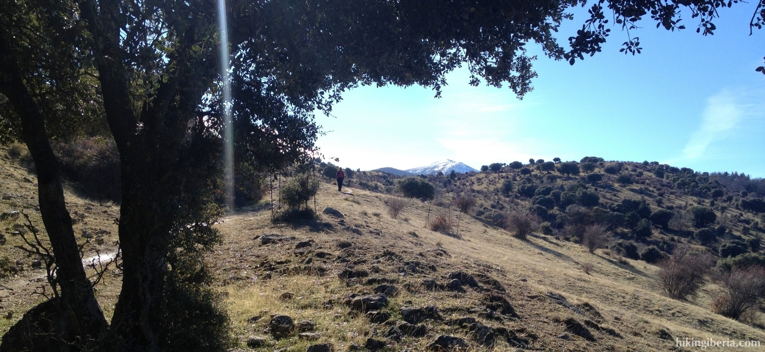 Ascent to the Alto de la Fuente del Pájaro
