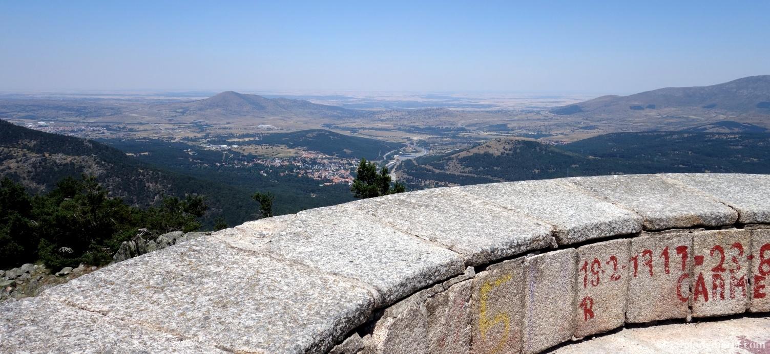 Uitzicht vanaf Cabeza Líjar