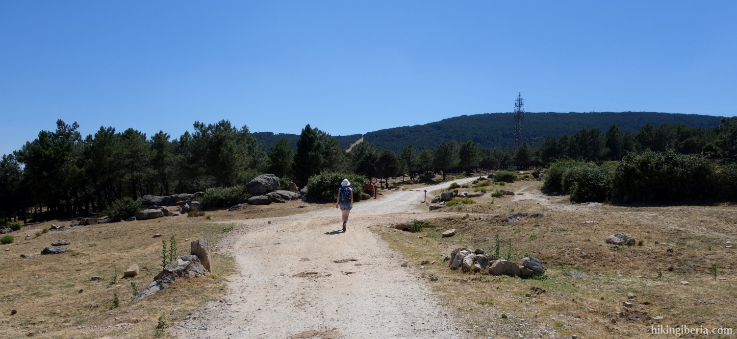 Trail near Moralzarzal