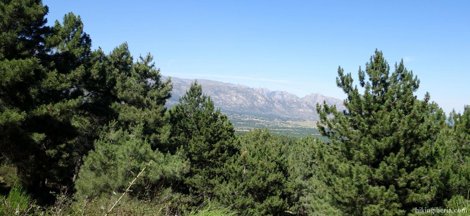 Vista desde El Pinar