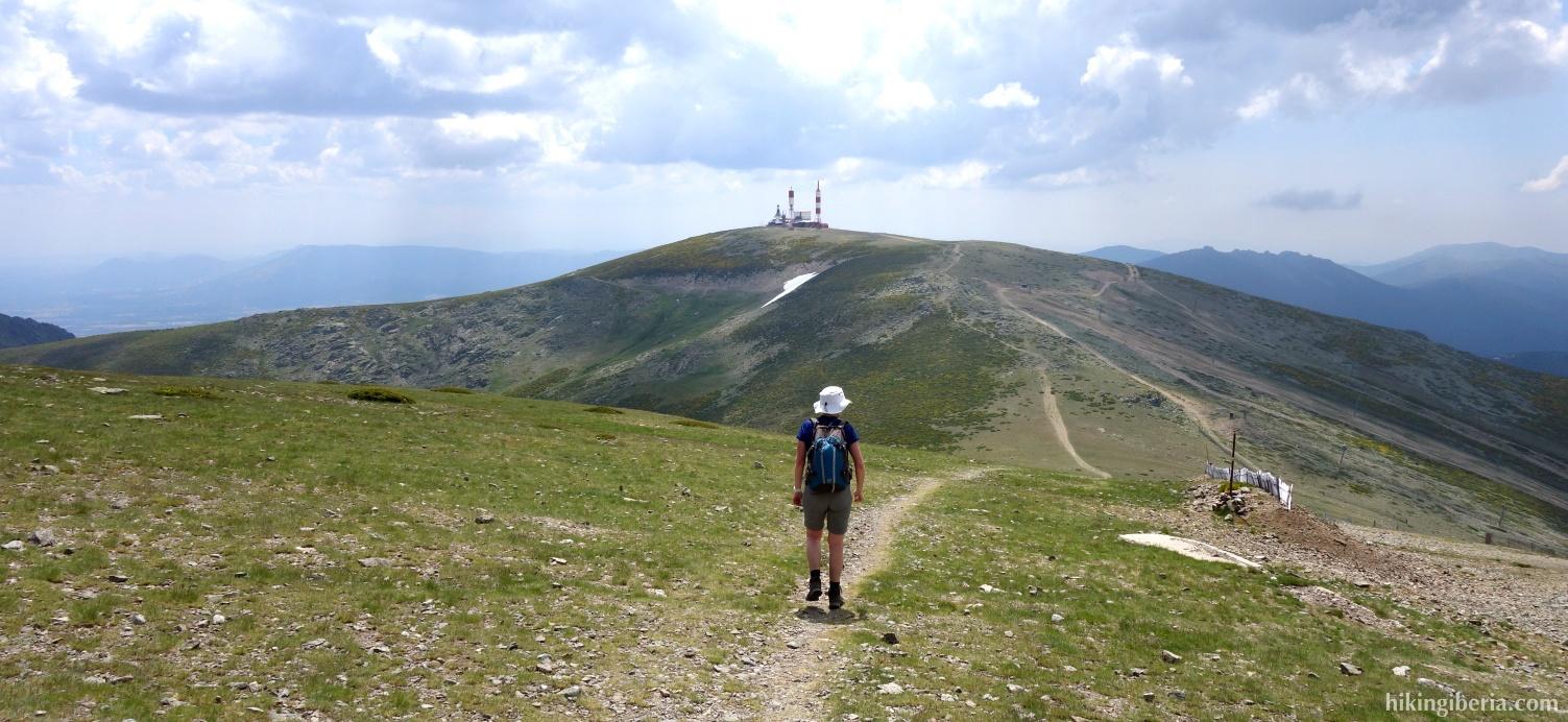 Abstieg zum Collado de la Guarramillas