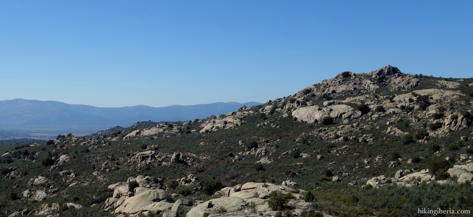 Aussicht über Collado Villalba