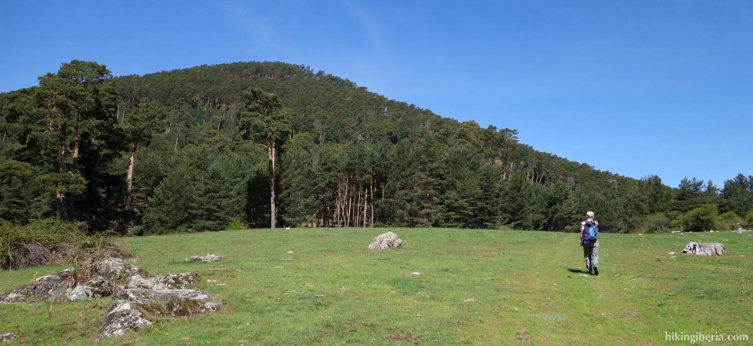 Grasvlakte nabij de Vado de la Tabla