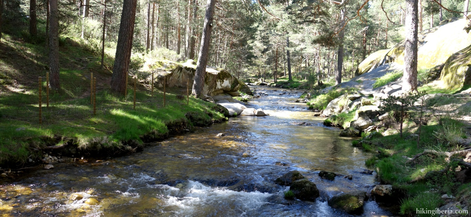 Fluss die Eresma