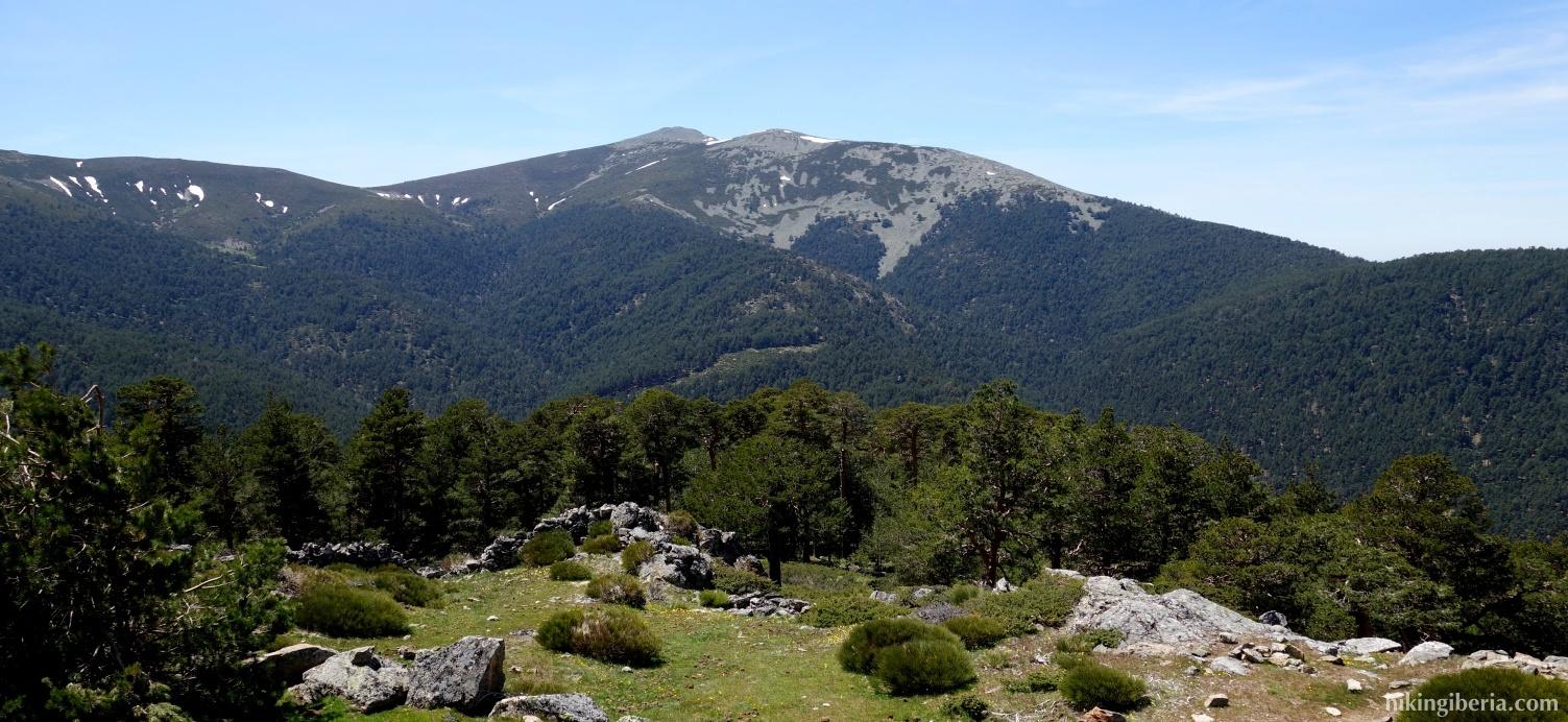 Vista desde el Cerro de la Camorca