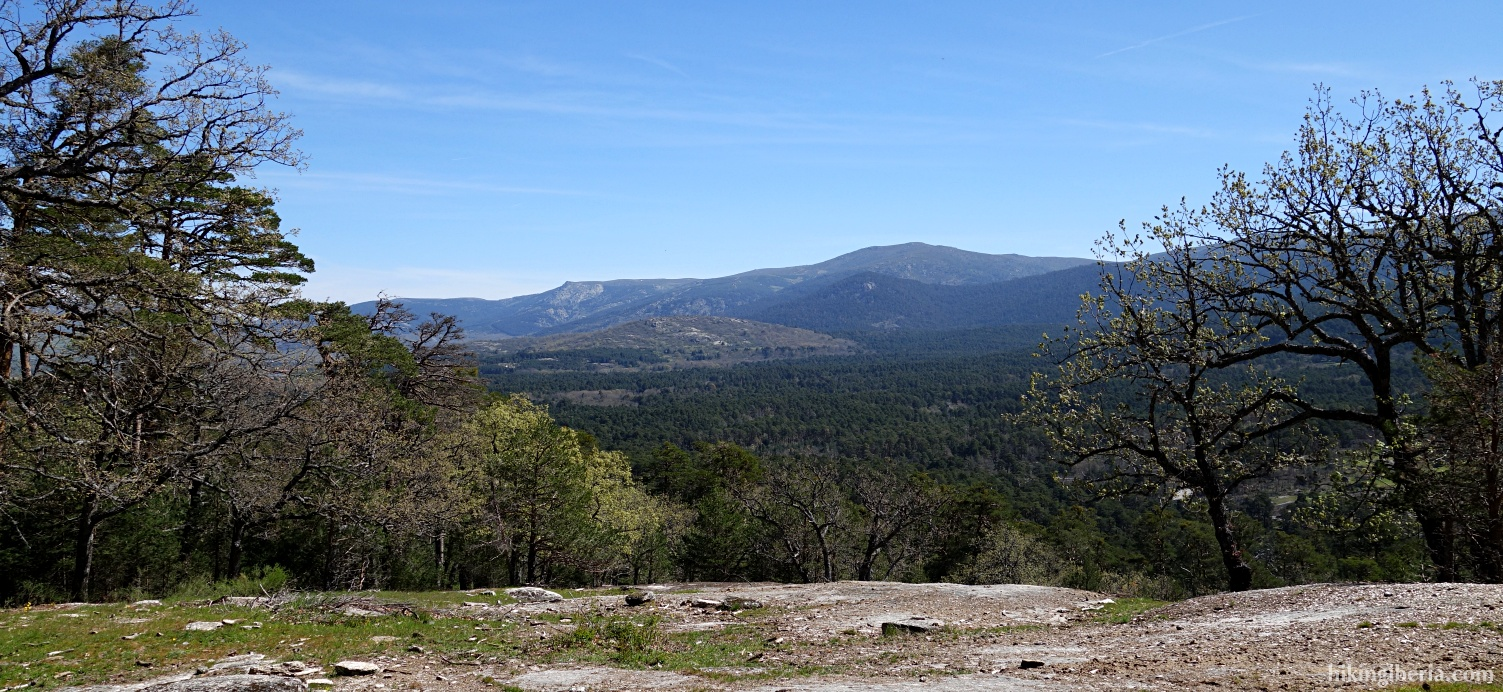 View over the Sierra de Guadarrama