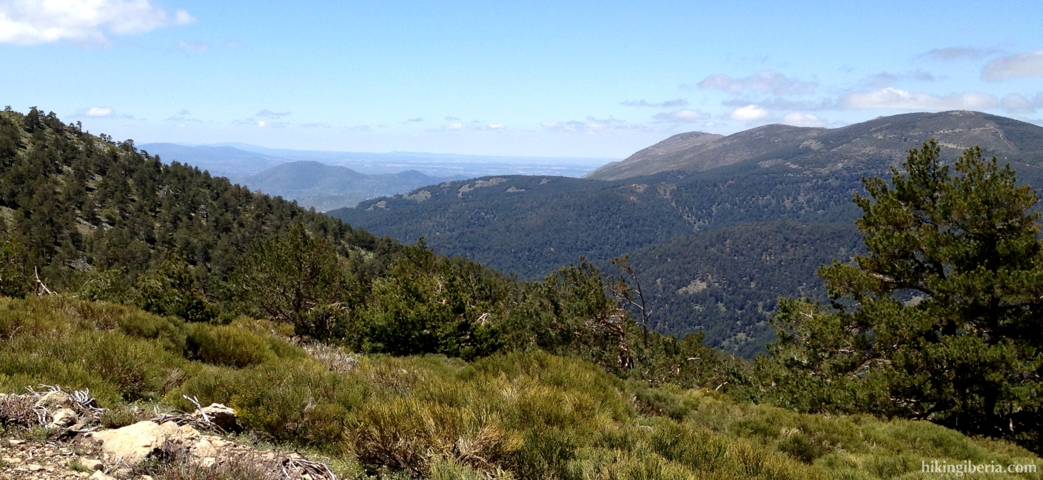 Klim naar de Cerro Peña del Águila