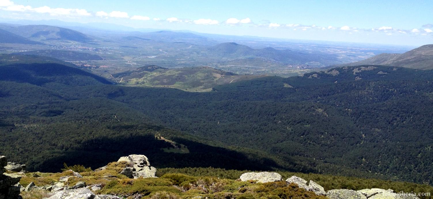 Vista desde el Cerro Peña del Águila