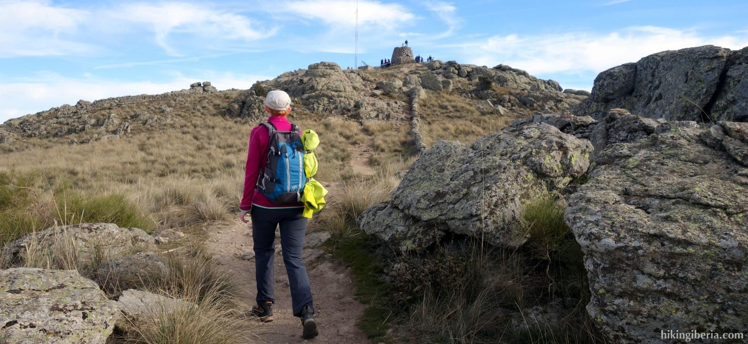 Ascent to the Cerro de San Pedro