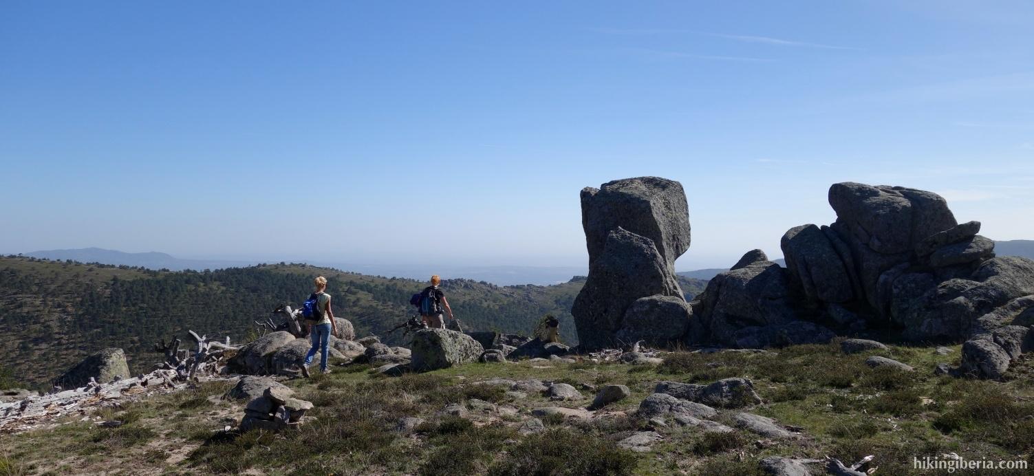 Landschaft in der Nähe von Cueva Valiente