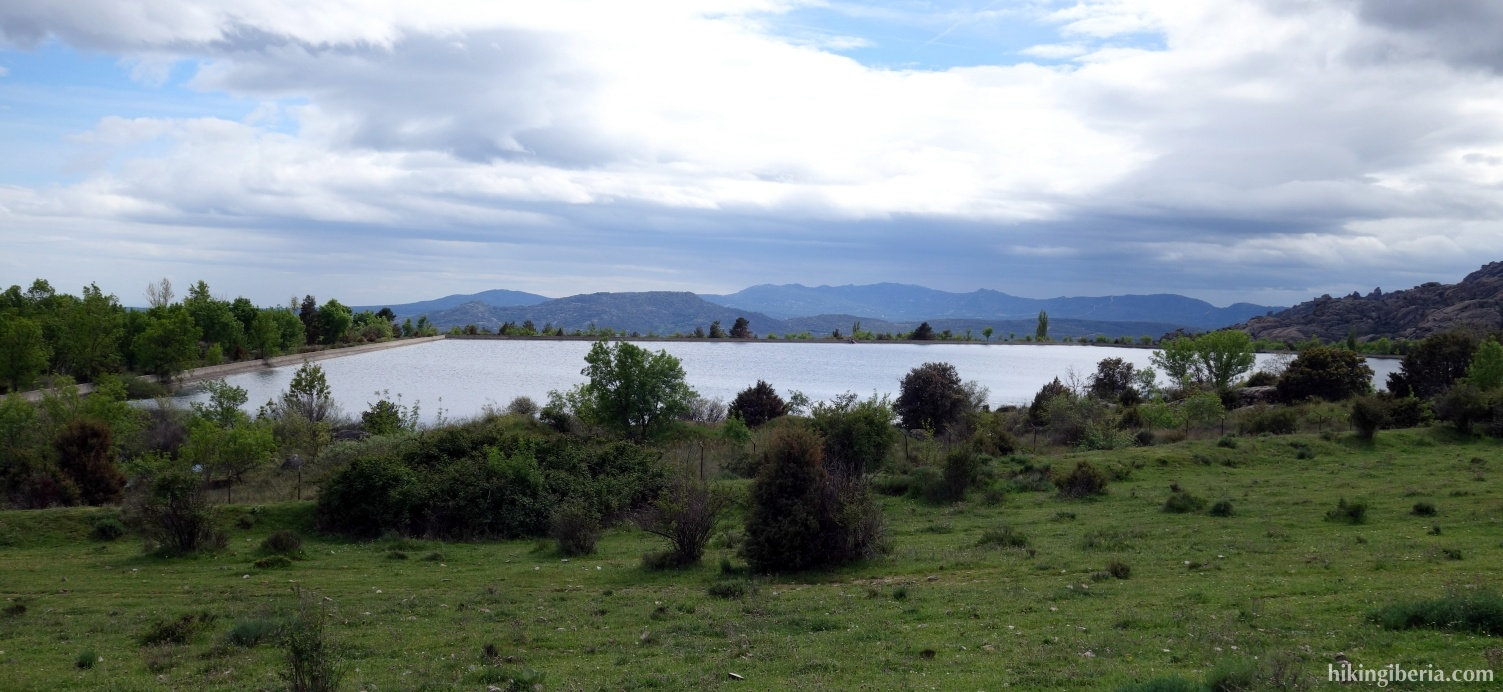 Reservoir of Los Palancares