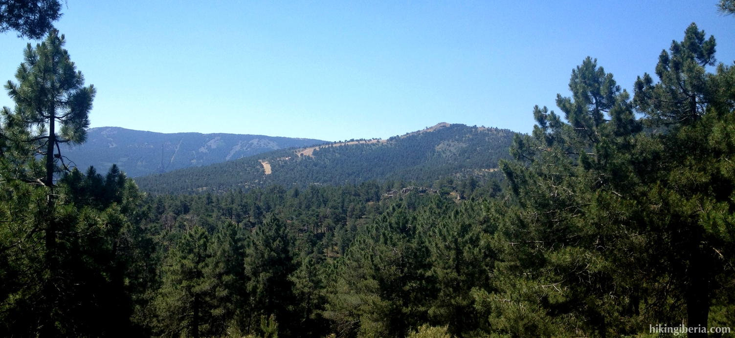 View towards Sierra de Guadarrama