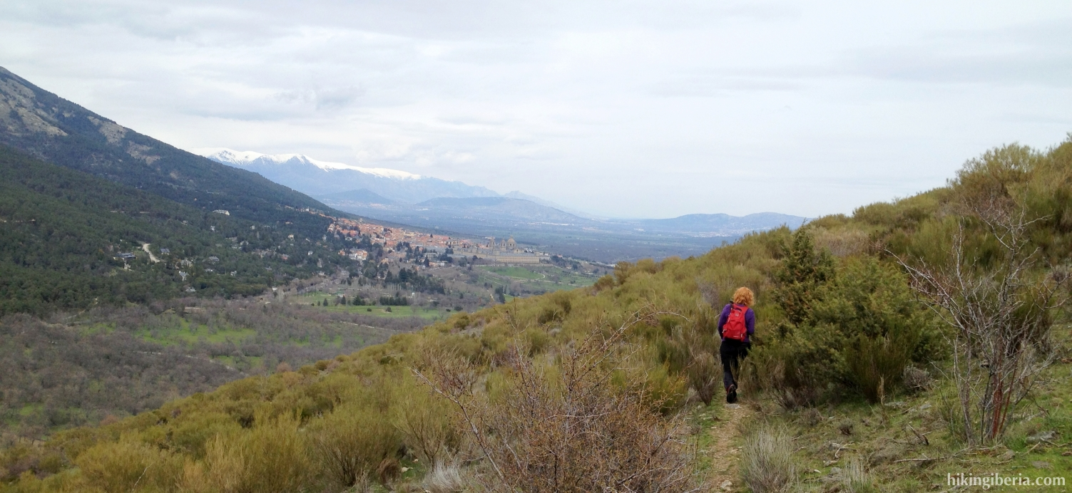 Aussicht auf El Escorial