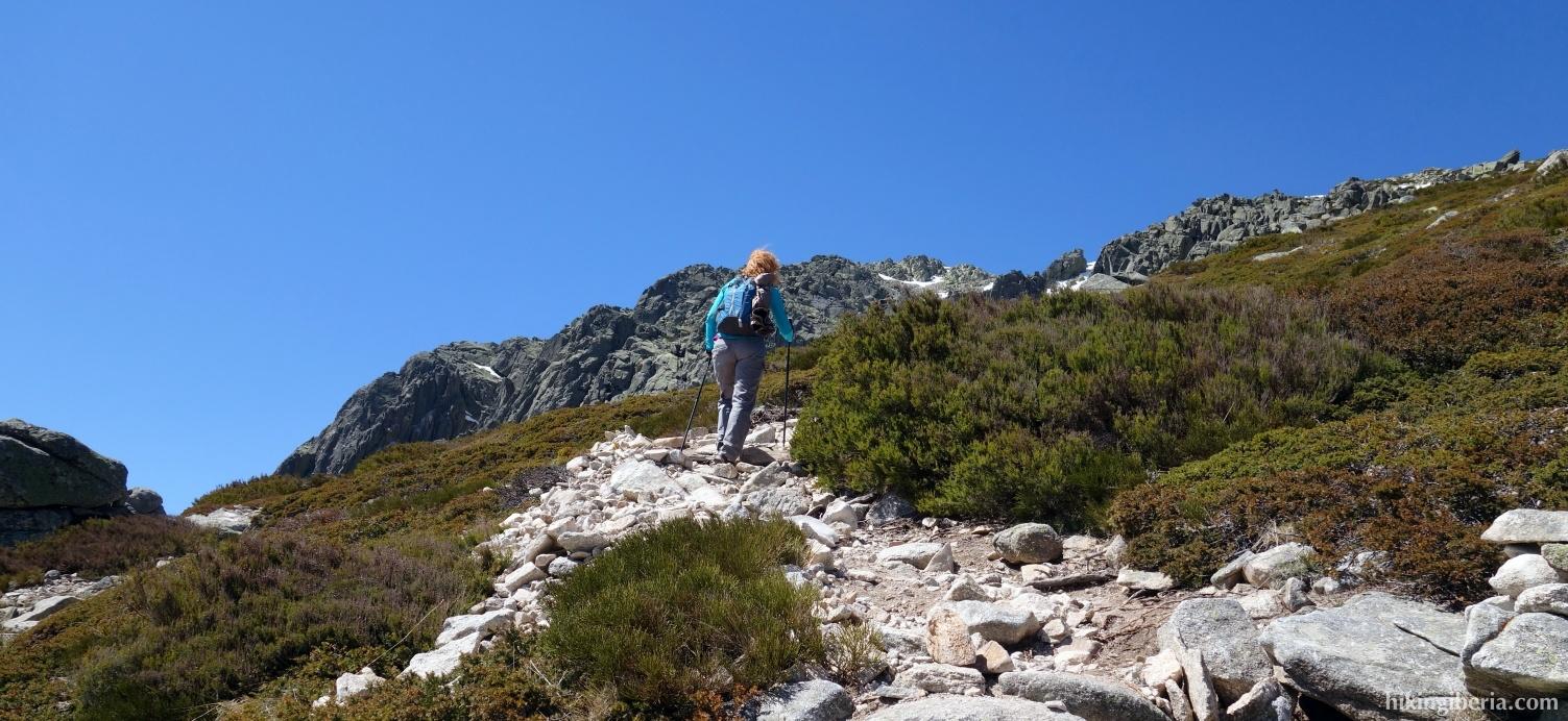 Ascent to the Maliciosa