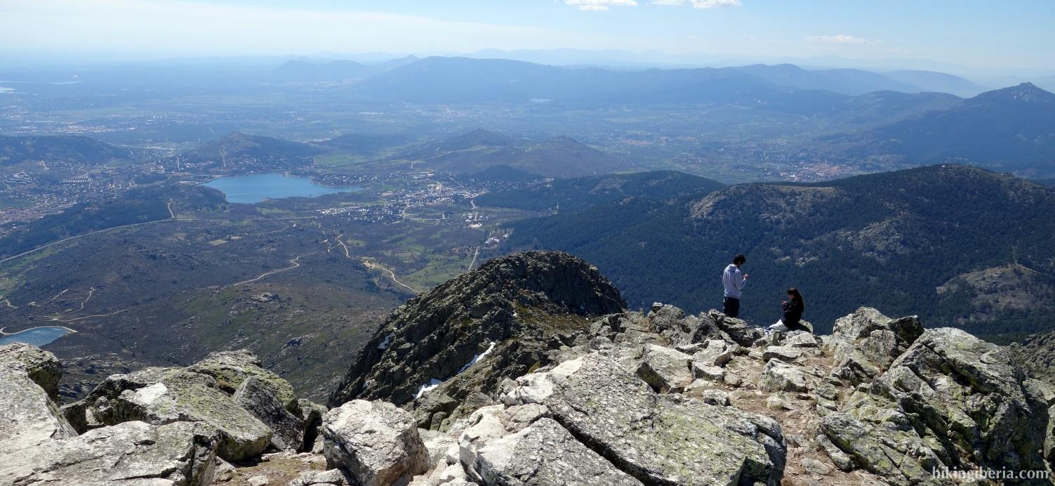 Uitzicht vanaf de Maliciosa