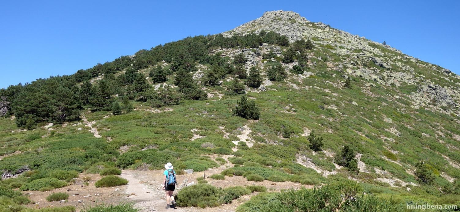 Aufstieg zum Montón de Trigo