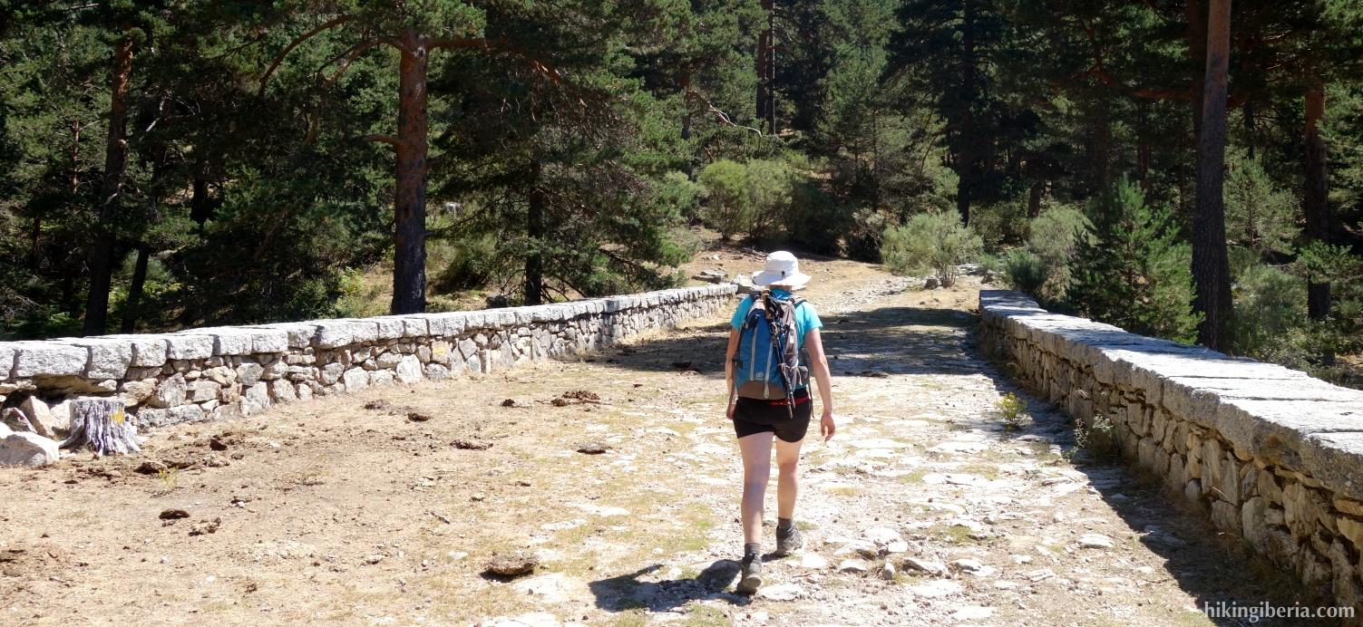 Romeinse Weg van la Fuenfría