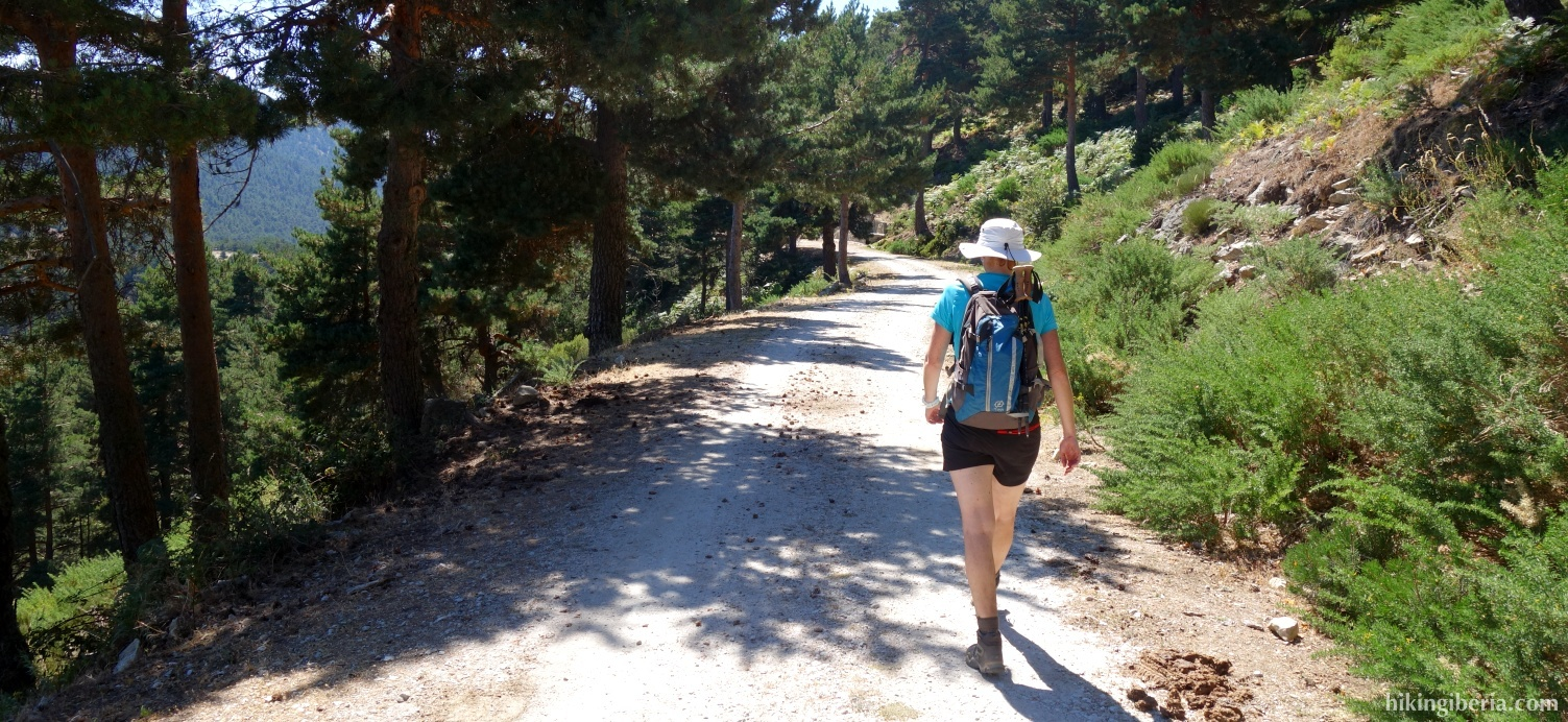 Dirt road to the Collado de Marichiva