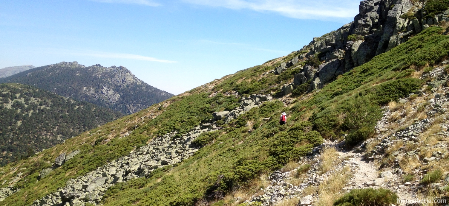 Trail on the Collado Minguete
