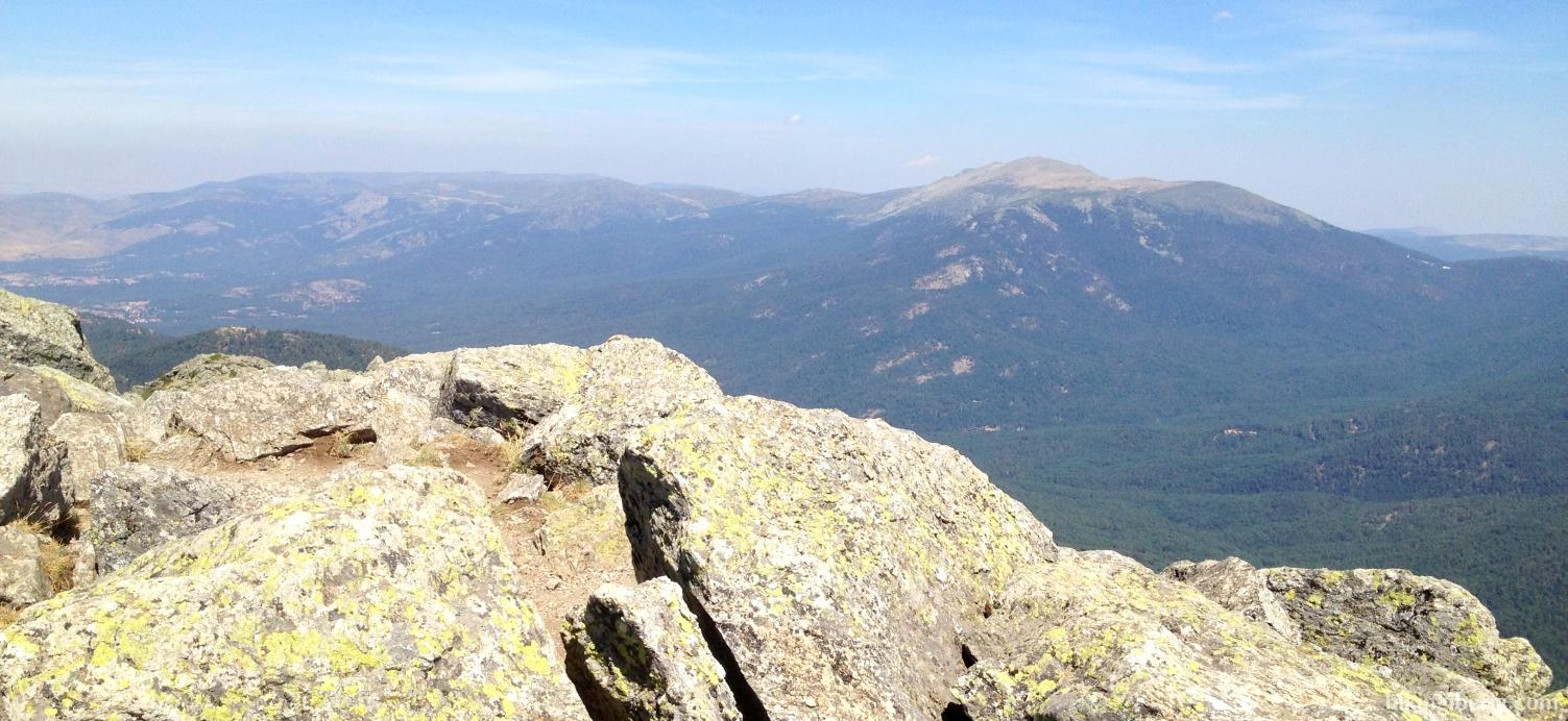 View from the Montón de Trigo