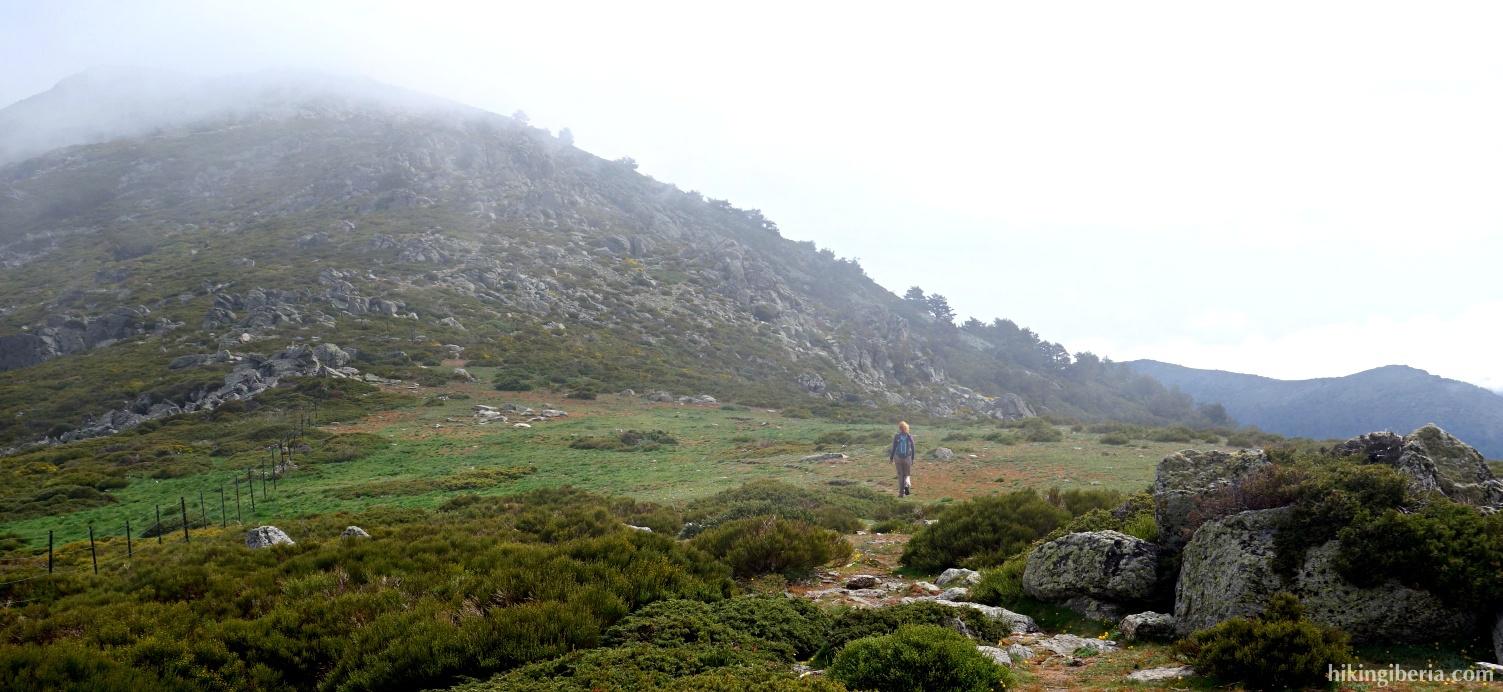 Klim naar de Peña del Oso