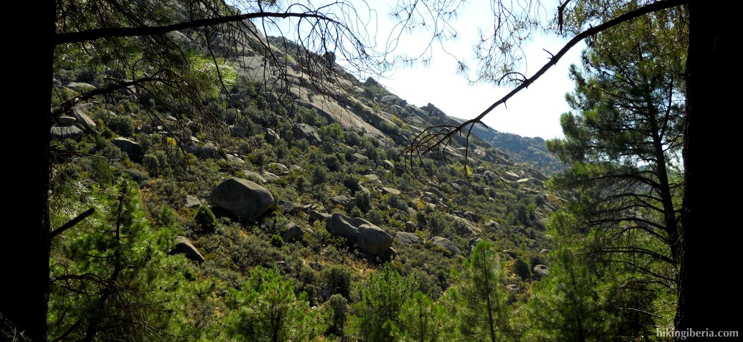 View from the trail ´La Autopista´