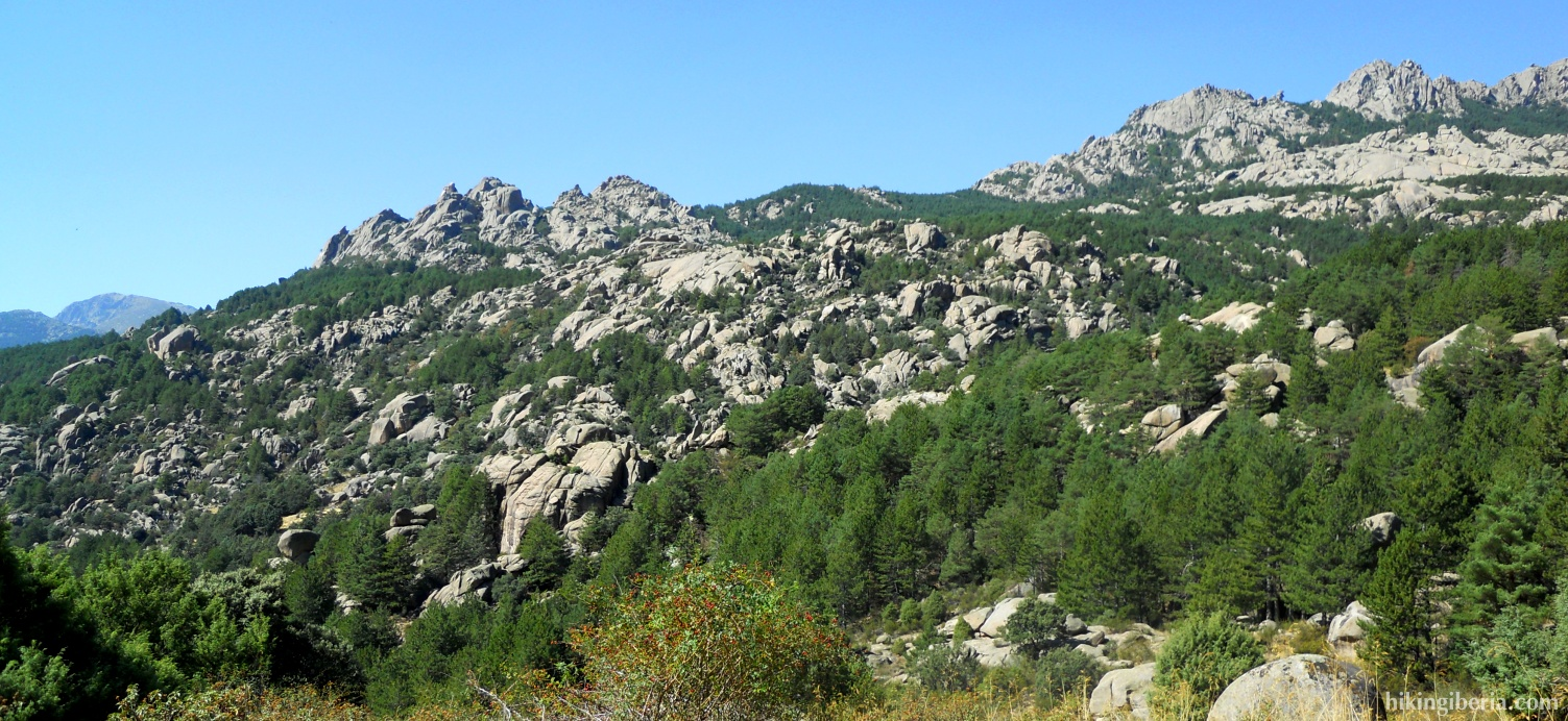 View on the Pedriza