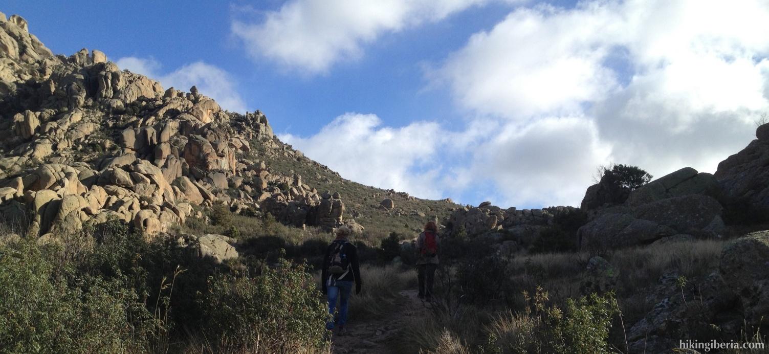 Ascent to the Collado de la Pedriza