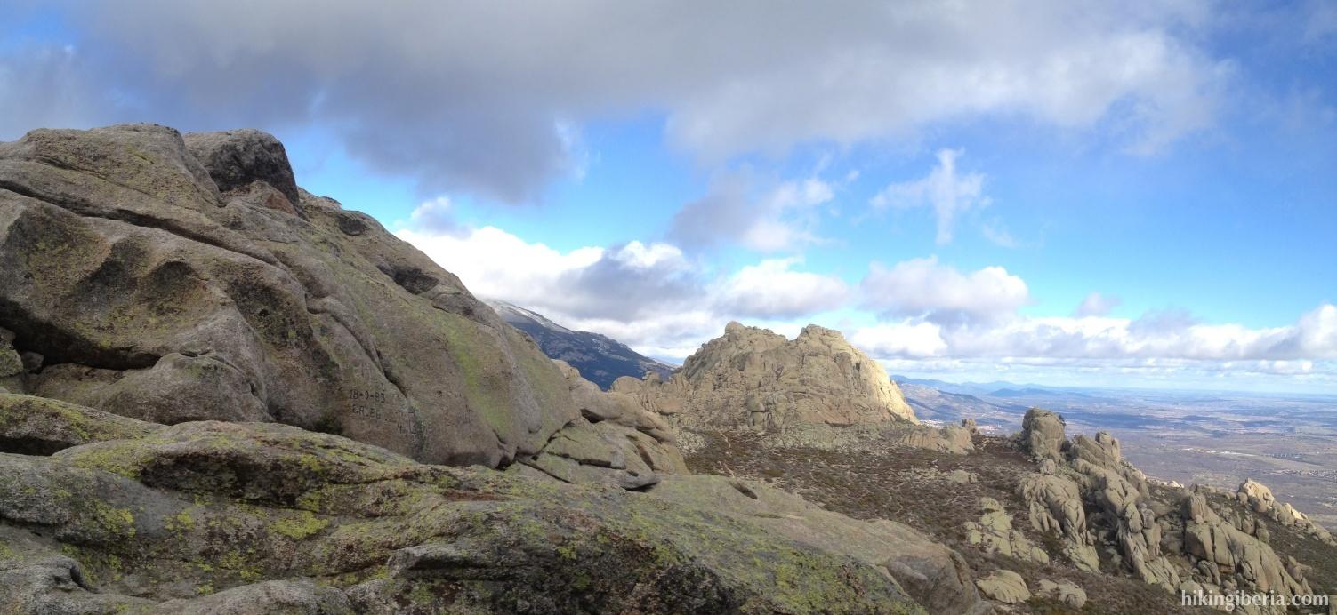 Uitzicht vanaf de Yelmo