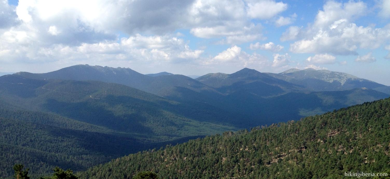 Ascent via the Loma de Dos Hermanas