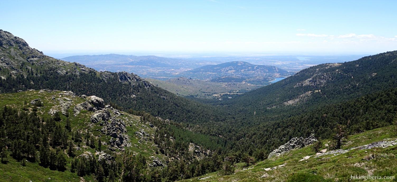 Uitzicht vanaf de Garganta del Infierno