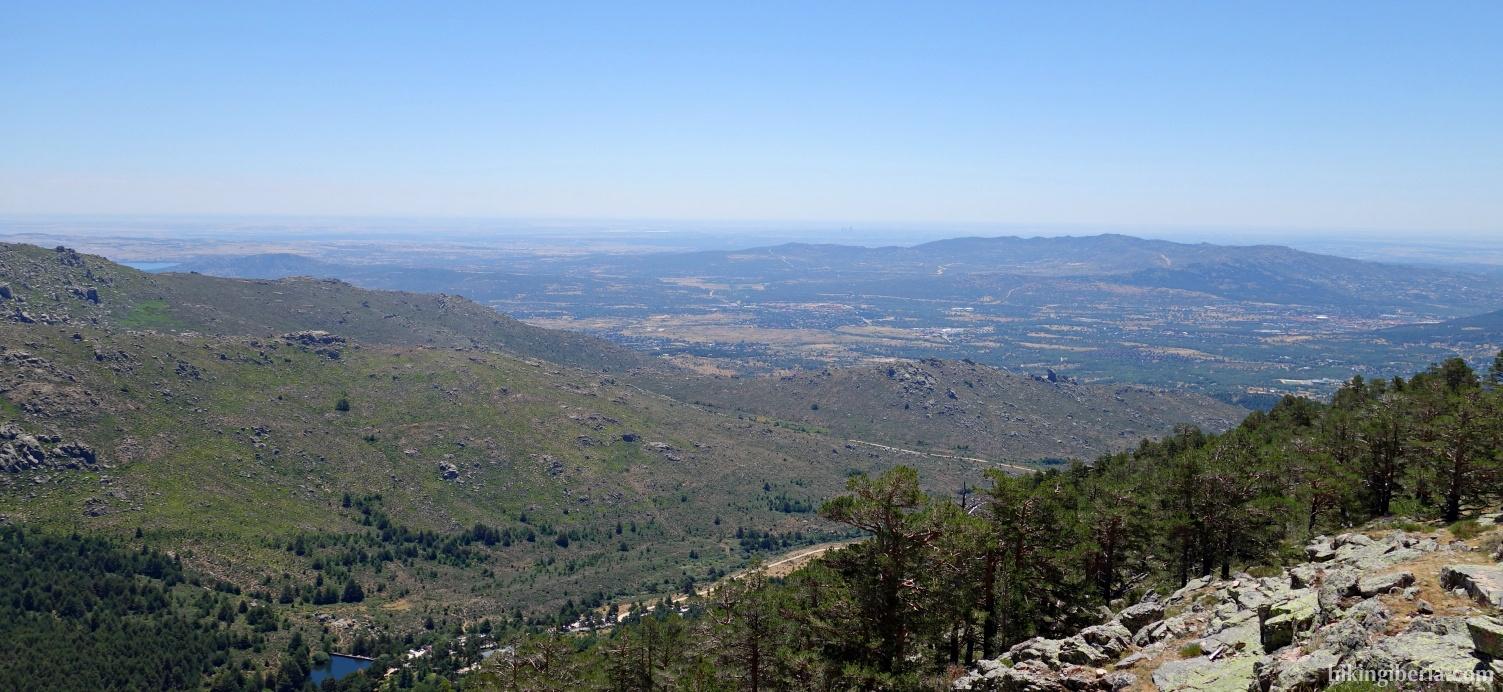 Aussicht ab dem Mirador de la Barranca